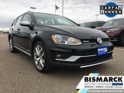 Certified Pre-Owned 2017 Volkswagen Golf Alltrack SEL